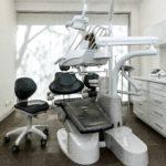 Gabinet zfotelem dentystycznym unit