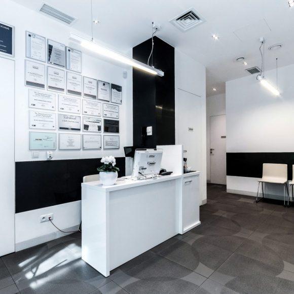 zdjęcie wnętrza stomatologii Świątkowska