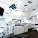 Widok unitu - fotela dentystycznego
