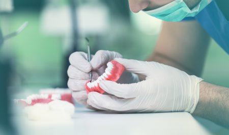 Przygotowywanie protezy zębowej