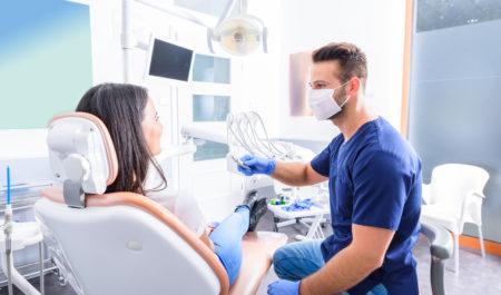 Leczenie stomatologiczne - pęknięcie zęba